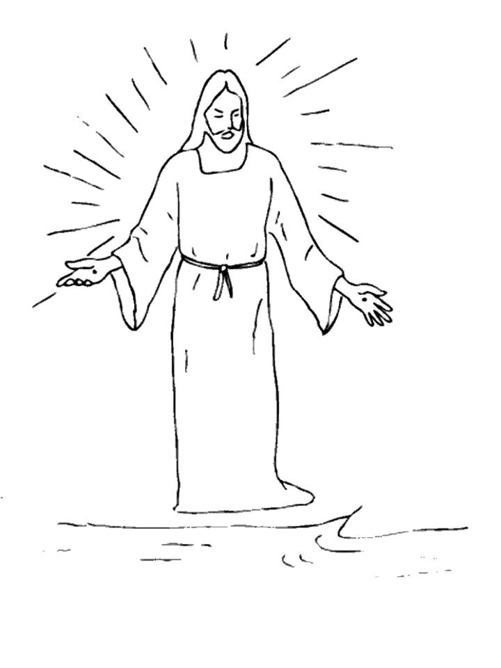 jesus rose from the dead coloring page - jesus rose from the grave colouring pages